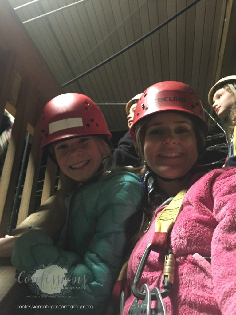 why it's better to do some things in the dark - fear of unknown - desire to know the future - why not knowing how things will turn out is best for us - faith - anxiety over unknown - ziplining - night zipping - hard things help us grow - mommy daughter weekend - camp